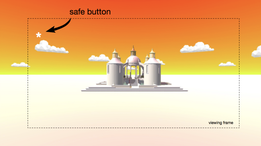 A HUD safe button would be desirable but, how to select it?